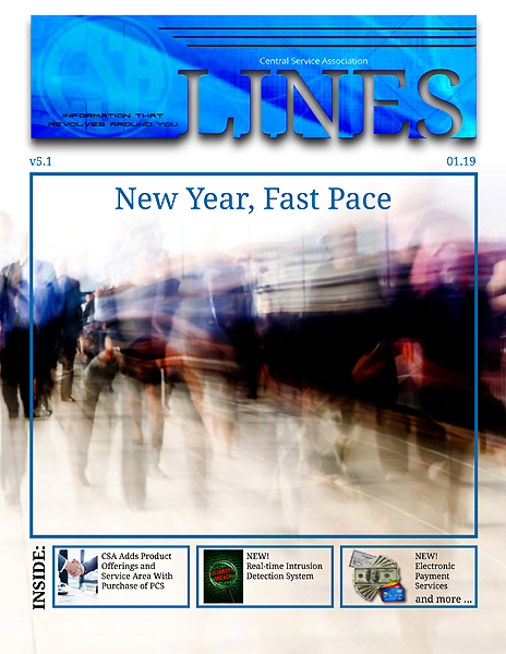 CSA LINES Jan 2019 Cover